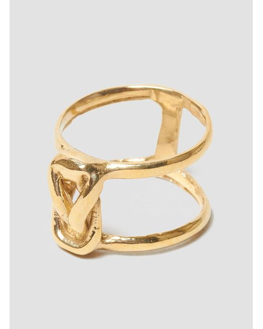 Odette New York - Multicolor Stacked Lovers Knot Ring - Lyst