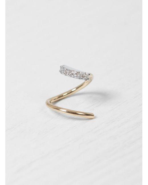 Maria Black | Multicolor Lila Blanc Twirl Earring Right | Lyst