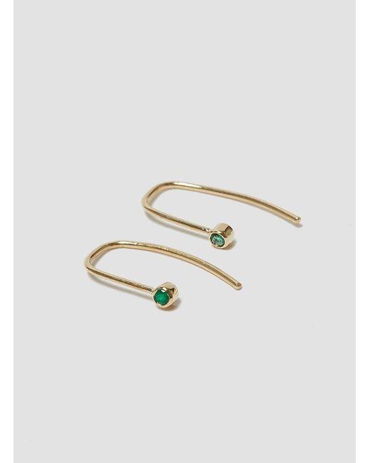 Grace Lee - Multicolor Bezel Hook Earrings - Lyst