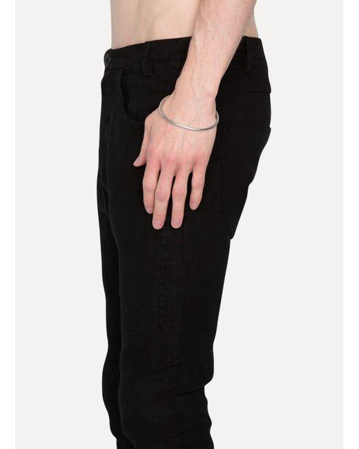 Ann Demeulemeester - Metallic Bracelet Simple Silver - Lyst