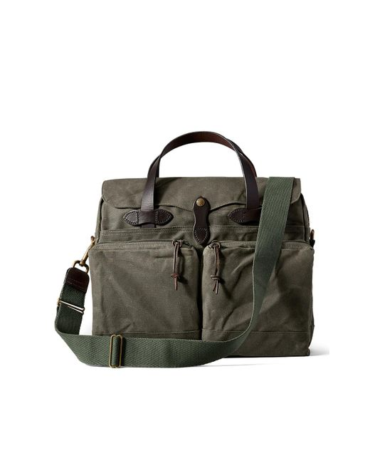 Filson - 24-hour Tin Briefcase Otter Green for Men - Lyst