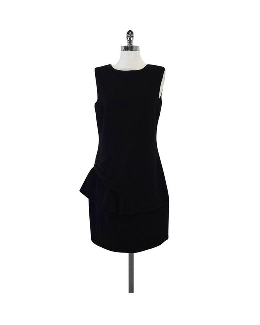 Emilio Pucci - Black Wool Sleeveless Dress - Lyst
