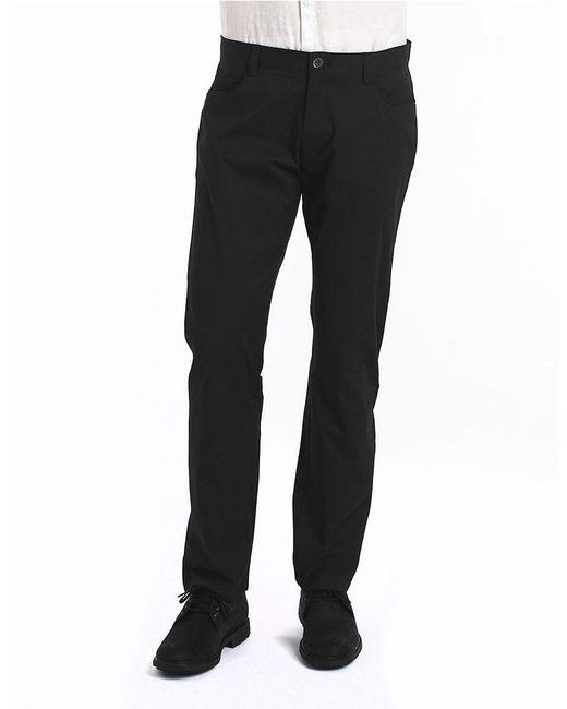 Calvin Klein | Black Slim-fit Stretch Pants for Men | Lyst