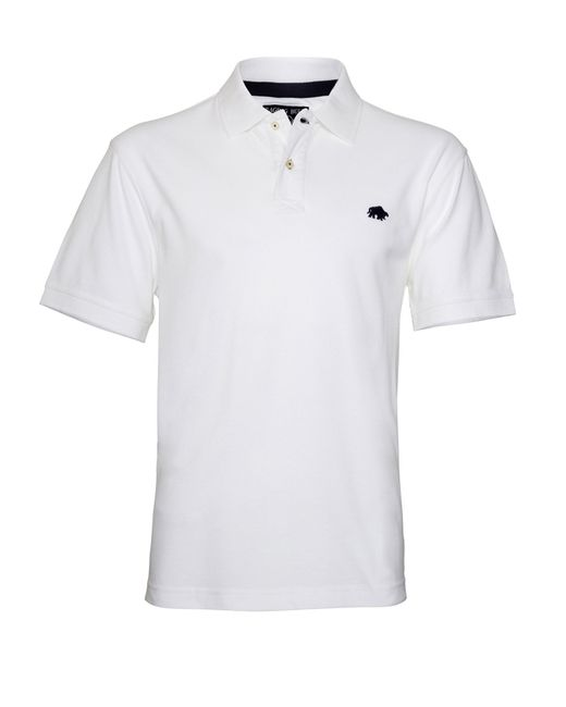 Raging Bull | White Big And Tall New Signature Polo Shirt for Men | Lyst
