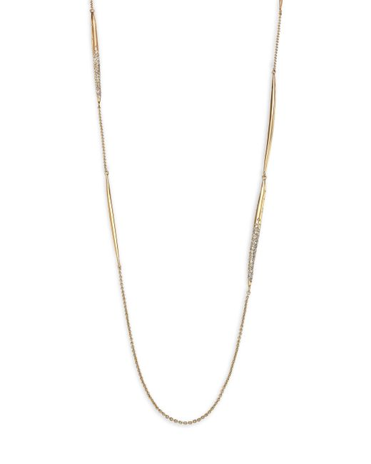 Alexis Bittar | Metallic Miss Havisham Jagged Crystal Spear Station Necklace | Lyst