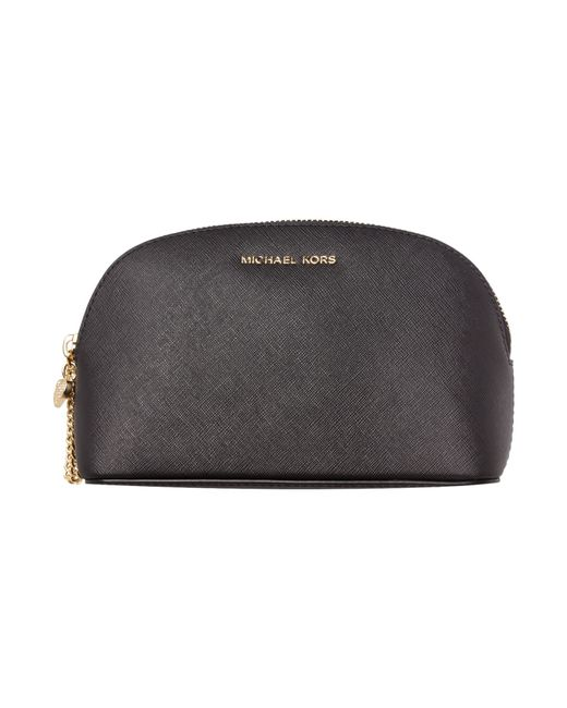 Michael Kors Alex Black Cosmetic Bag Lyst