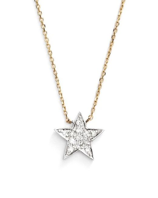 Dana Rebecca | Yellow 'julianne Himiko' Diamond Star Pendant Necklace | Lyst