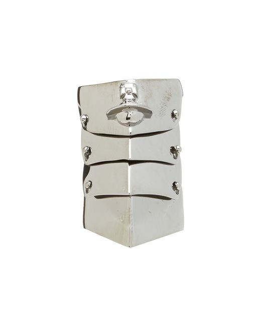 Vivienne Westwood   Metallic Armour Ring for Men   Lyst