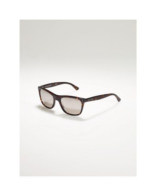 Polo Ralph Lauren | Gray Reflective-lens Sunglasses for Men | Lyst