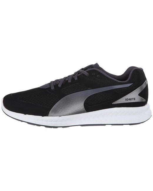 PUMA | Black Ignite Mesh for Men | Lyst