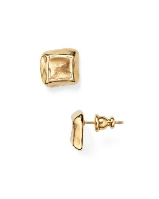 Uno De 50 | Metallic Nailed Stud Earrings | Lyst