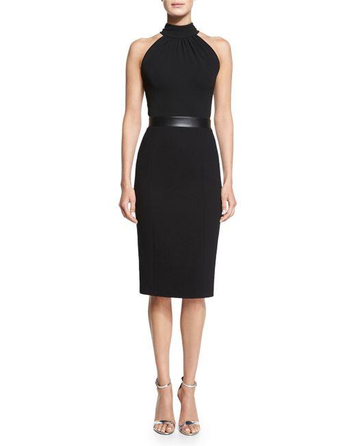 Galerry sheath dress halter