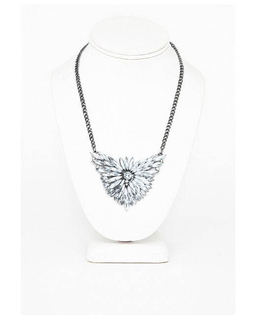 Missguided | Metallic Silver Coin Pendant Necklace | Lyst