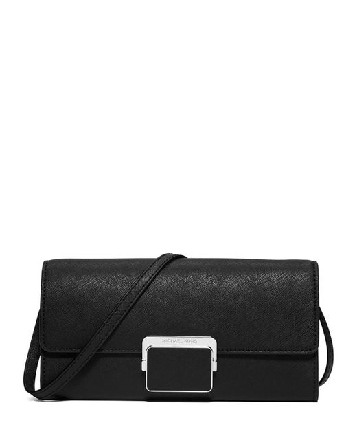 michael michael kors cynthia large evening clutch bag in