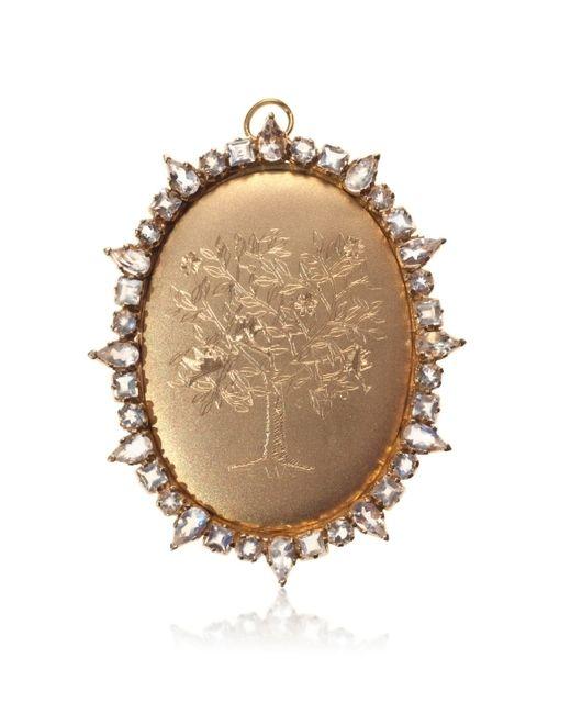 Emily & Ashley | Metallic 18k Gold Tree Of Life Pendant | Lyst