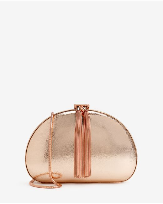 Ted Baker | Pink Hartly Glitter Clutch | Lyst