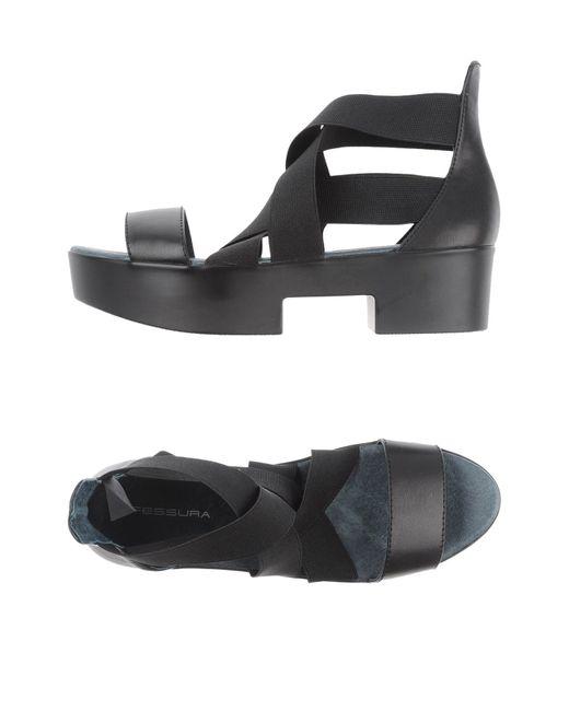 Fessura | Black Sandals | Lyst