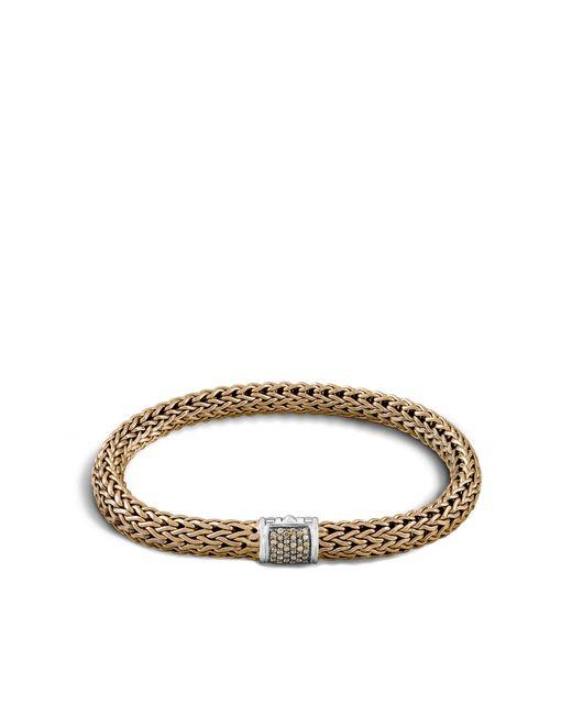 John Hardy   Metallic Classic Chain Bracelet With Diamonds for Men   Lyst