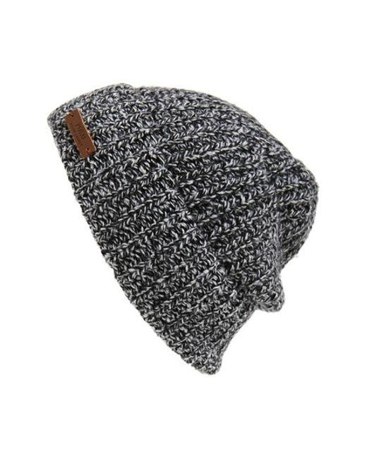 Polo Ralph Lauren   Gray Melange Knit Wool Blend Beanie for Men   Lyst