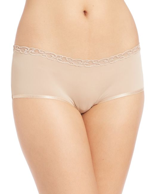 Natori Foundations | Natural Bliss Pure Girl Shorts | Lyst