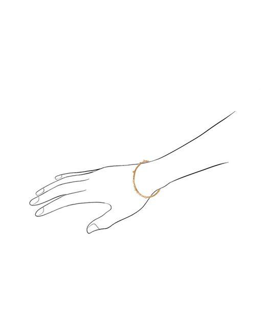 Aurelie Bidermann | Metallic Rosebud Bangle | Lyst