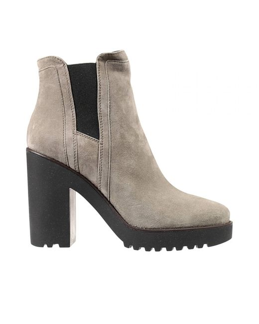 Hogan | Natural Ankle Boots | Lyst