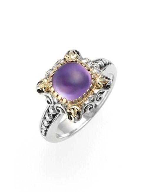 Konstantino | Purple 'erato' Stone Ring | Lyst