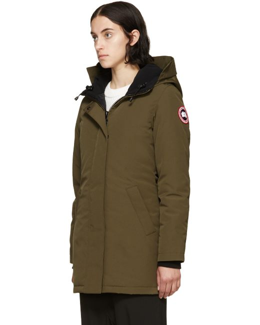 Canada Goose expedition parka outlet shop - Canada goose Victoria Fur-hood Parka Jacket in Black (MILITARY ...