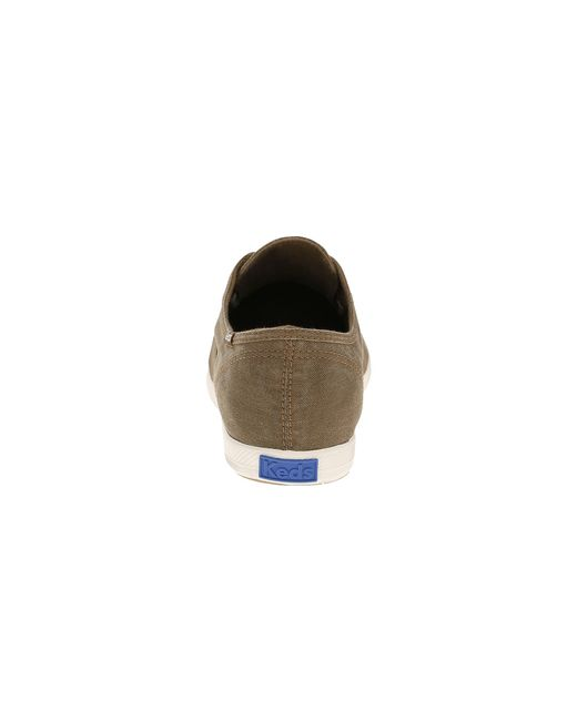 Keds   Brown Champion Chillax Washed Twill for Men   Lyst