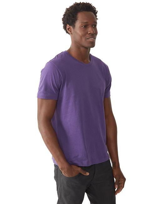 Alternative Apparel   Purple Basic Mens Crew T-shirt for Men   Lyst