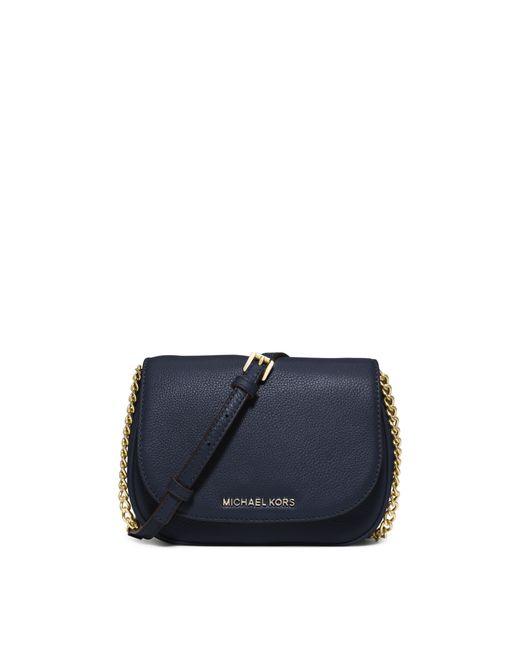 Michael Kors | Blue Bedford Small Leather Crossbody | Lyst