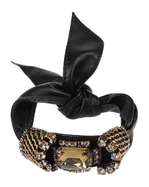 Pinko | Black Bracelet | Lyst