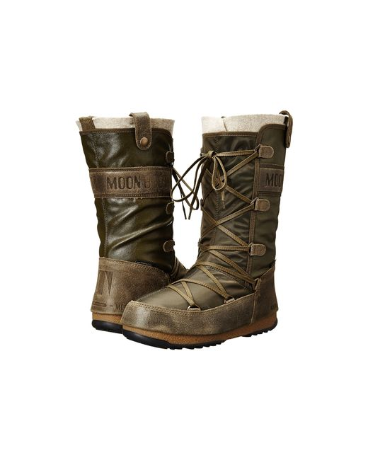 Tecnica | Brown Moon Boot® W.e. Monaco Mix | Lyst