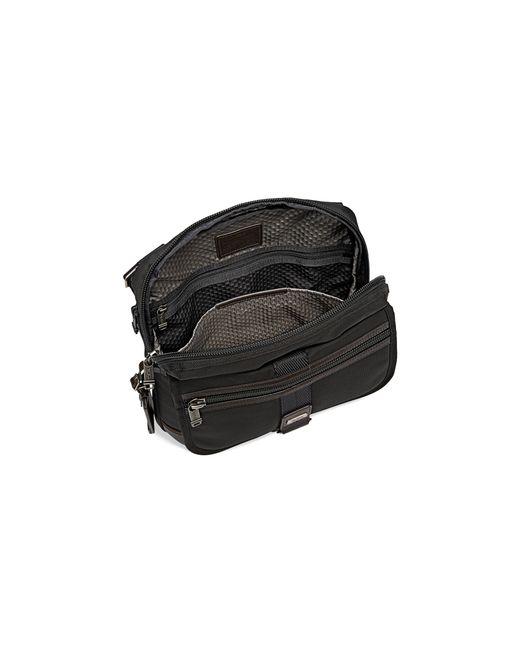 Tumi   Brown Annapolis Zip Flap Bag   Lyst