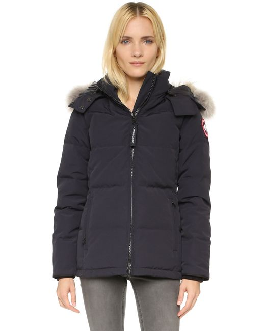 Canada Goose | Blue Chelsea Parka | Lyst