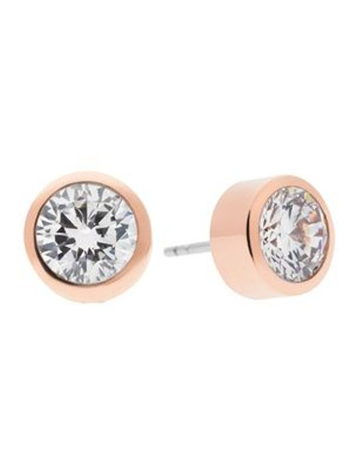 Michael Kors | Pink Mkj4706791 Ladies Stud Earrings | Lyst