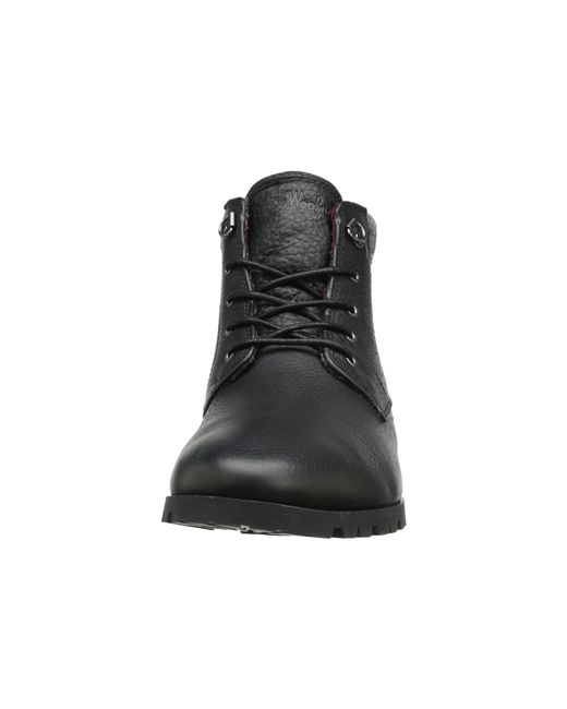 Woolrich | Black Beebe Leather for Men | Lyst