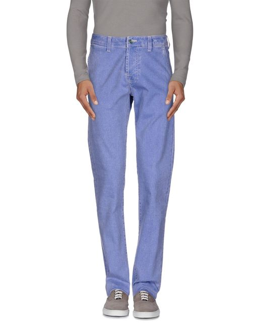 Pt05 | Blue Denim Pants for Men | Lyst