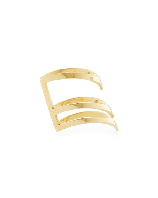 Jennifer Zeuner | Metallic Triple-stacked Odette Space Ring | Lyst