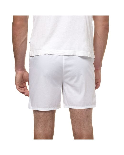 James Perse   White Laundered Cotton Boxer for Men   Lyst