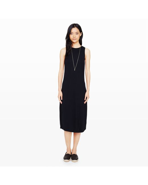Club Monaco | Black Mika Knit Dress | Lyst