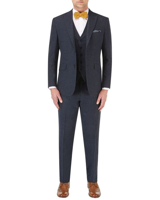 Skopes | Blue James Suit Waistcoat for Men | Lyst