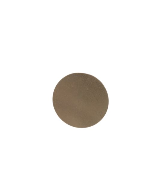 Garnish | Metallic Large Circle Stud | Lyst