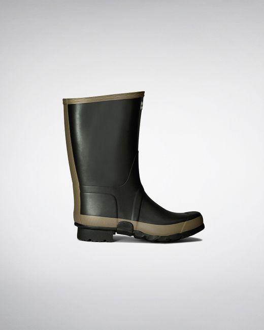 HUNTER | Green Women's Gardener Rain Boots | Lyst