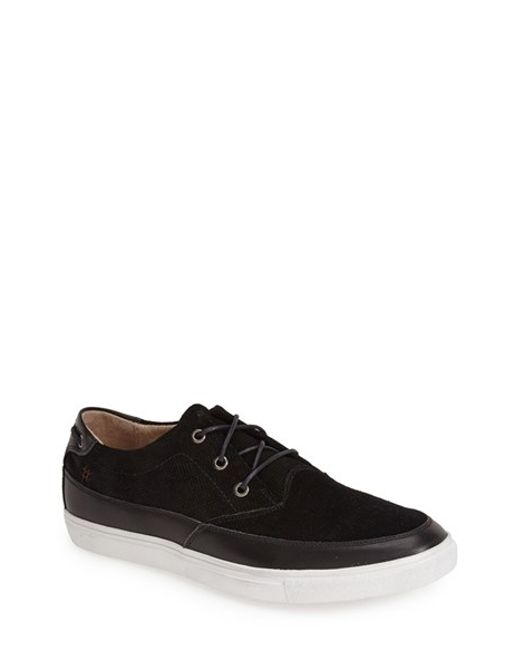 Joe's Jeans | Black 'Drift' Suede Sneaker for Men | Lyst