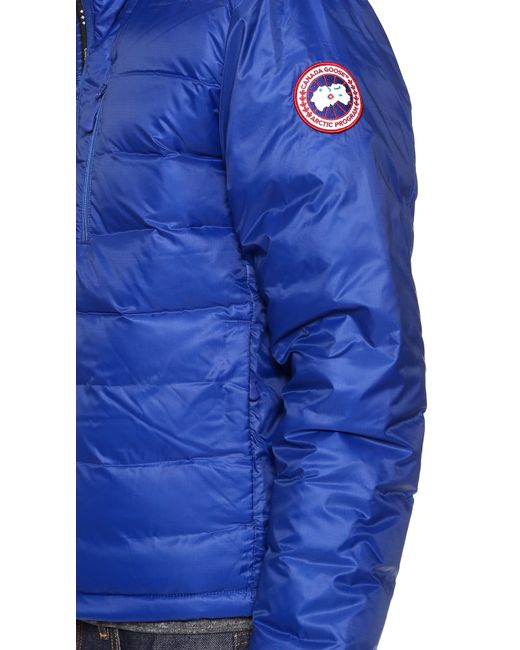 Canada Goose kids online authentic - Canada goose Lodge Jacket in Blue for Men (Pacific Blue) | Lyst