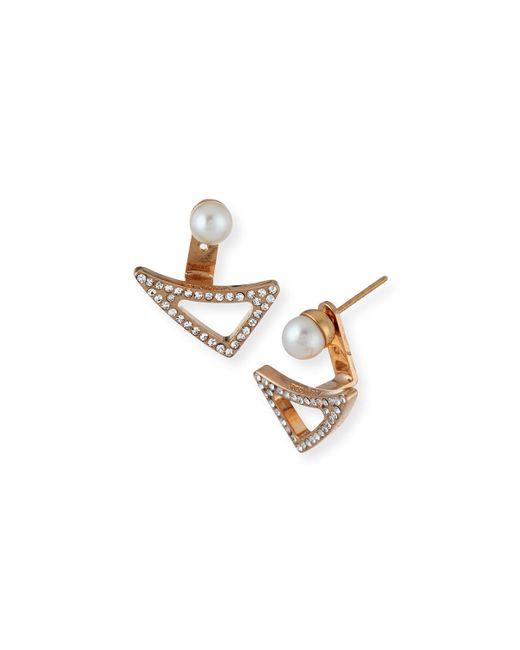 Vita Fede | Pink Lancia Pearl Earrings | Lyst