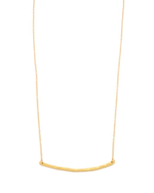 Gorjana | Metallic Taner Bar Necklace | Lyst