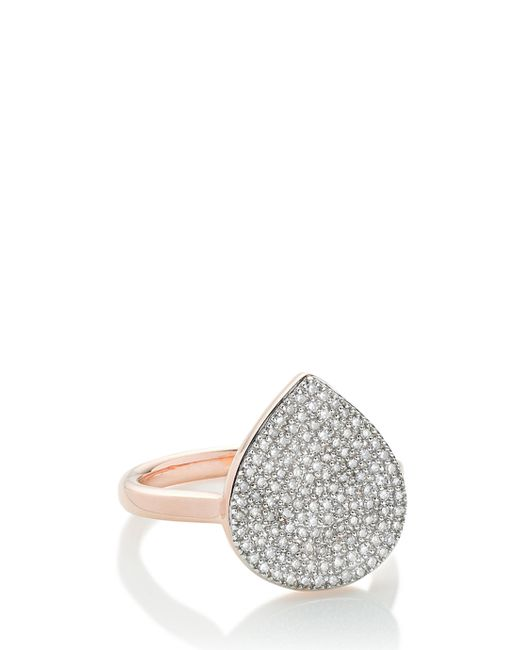 Monica Vinader | Metallic Alma Diamond Ring | Lyst