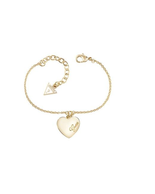 Guess | Metallic Gold Plated Bracelet | Lyst